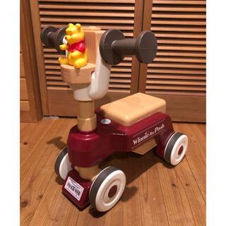 美品❗️ くまのプーさん おしゃべりウォーカーライダー 三輪車(三輪車)