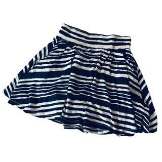 ザラ(ZARA)の定価4千円弱!エイチアンドエム ウェーブボーダーのスカート(ひざ丈スカート)