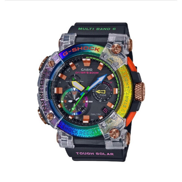 G-SHOCK(ジーショック)のGWF-A1000BRT-1AJR G-SHOCK フロッグマン レインボー メンズの時計(腕時計(デジタル))の商品写真