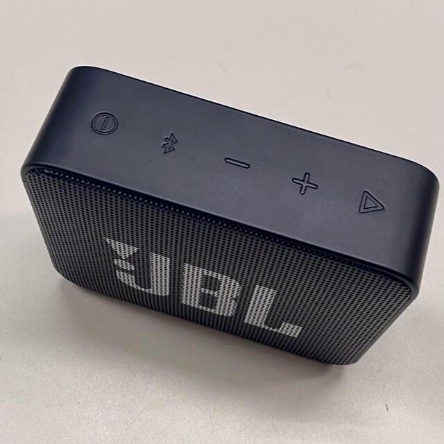中古 JBL GO2 Bluetooth スピーカー ブラック スマホ/家電/カメラのオーディオ機器(スピーカー)の商品写真