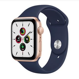 Apple Watch - アップルウォッチ SE GPS Goldアルミニウム 新品開封品 40mm