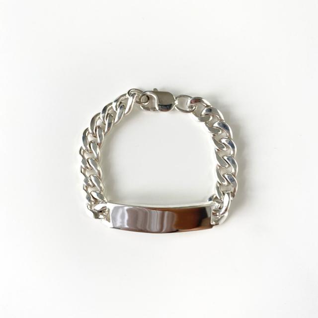Tiffany & Co.(ティファニー)のTiffany&co. ID Bracelet ブレスレット 喜平  メンズのアクセサリー(ブレスレット)の商品写真