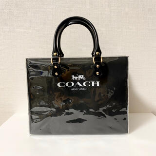 COACH - コーチ クリアバッグと紙袋