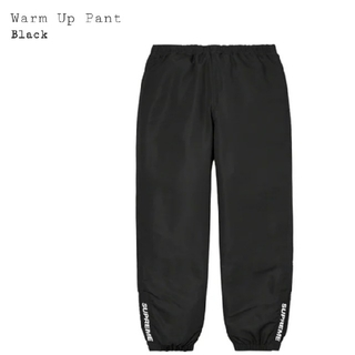 Supreme - Supreme Warm Up Pant Black 黒 L
