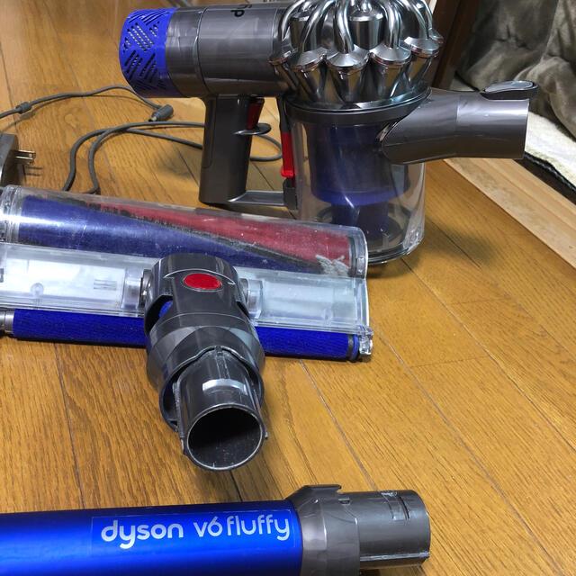 Dyson(ダイソン)のダイソン v6 fluffy パーツ スマホ/家電/カメラの生活家電(掃除機)の商品写真