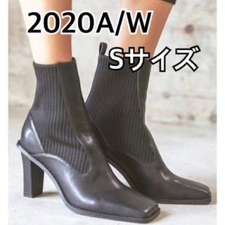 アリシアスタン(ALEXIA STAM)のアリシアスタンSquare Toe Short Boots Black S(ブーツ)
