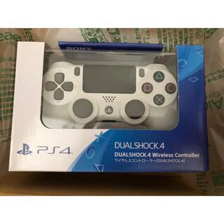 PlayStation4 - 【新品】PS4 純正 ワイヤレスコントローラー グレイシャー ホワイト