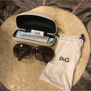ディーアンドジー(D&G)のD&G ドルチェアンドガッパーナ サングラス ブラウン(サングラス/メガネ)