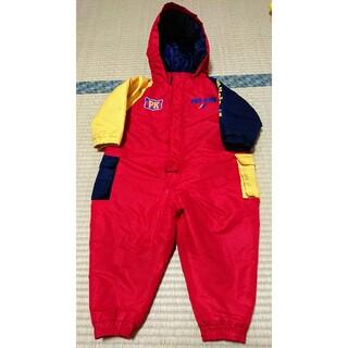 プロケッズ(PRO-Keds)のジャンプスーツ 赤90サイズ(コート)