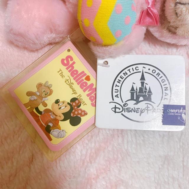 Disney(ディズニー)の⭐︎香港限定⭐︎イースター シェリーメイキーホルダー エンタメ/ホビーのおもちゃ/ぬいぐるみ(キャラクターグッズ)の商品写真