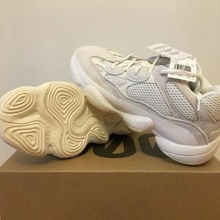 adidas - 26cm adidas YEEZY 500 BONE WHITE FV3573
