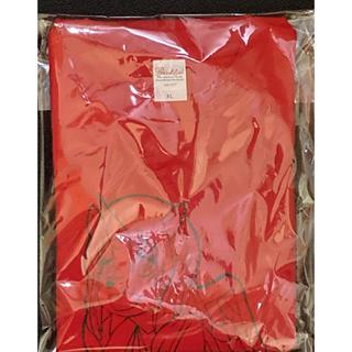 もか生誕Tシャツ レッド Mサイズ(Tシャツ/カットソー(半袖/袖なし))