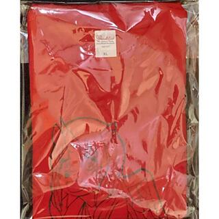 もか生誕Tシャツ レッド Lサイズ(Tシャツ/カットソー(半袖/袖なし))