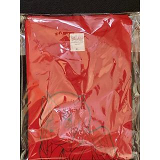 もか生誕Tシャツ レッド XLサイズ(Tシャツ/カットソー(半袖/袖なし))