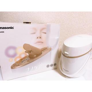 Panasonic - 《美顔器》EH-SA90パナソニック イオンスチーマーナノケア ゴールド調