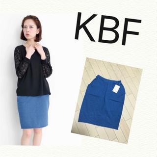 KBF - 【新品タグ付き】KBF☆デニムスカート