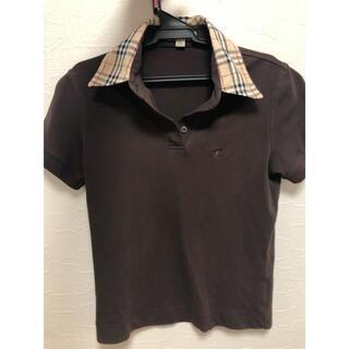 バーバリー(BURBERRY)の美品バーバリー レディース ポロシャツ(ポロシャツ)