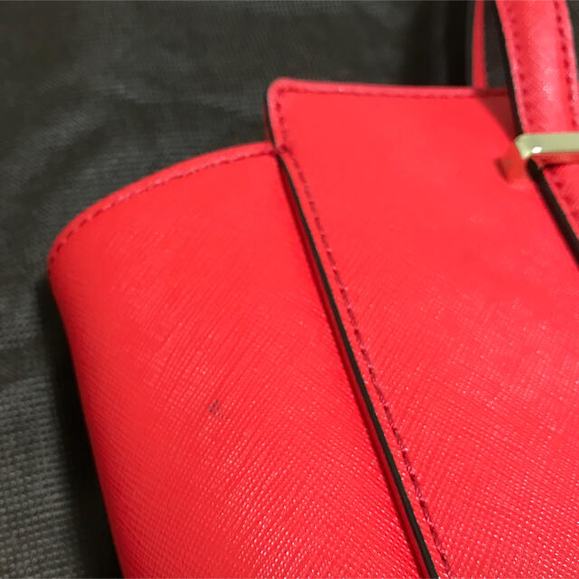 kate spade new york(ケイトスペードニューヨーク)のケイトスペードニューヨーク シダーストリート ハンドバッグ ショルダーバッグ 赤 レディースのバッグ(ハンドバッグ)の商品写真