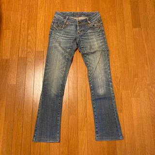 バーバリーブルーレーベル(BURBERRY BLUE LABEL)のデニム ジーンズ レディース バーバリー 34 XS パンツ(デニム/ジーンズ)