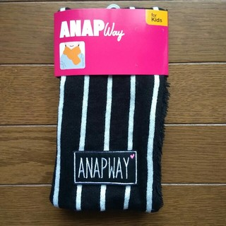 ANAP Kids - 新品 女の子 ANAP WAY  リバーシブルマフラー