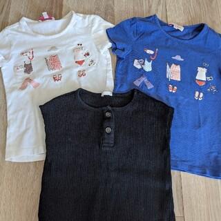 プチバトー(PETIT BATEAU)のTシャツ 3枚セット(Tシャツ/カットソー)