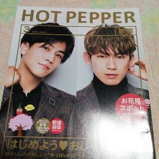 ホットペッパー 3月号 新潟版(ミュージシャン)