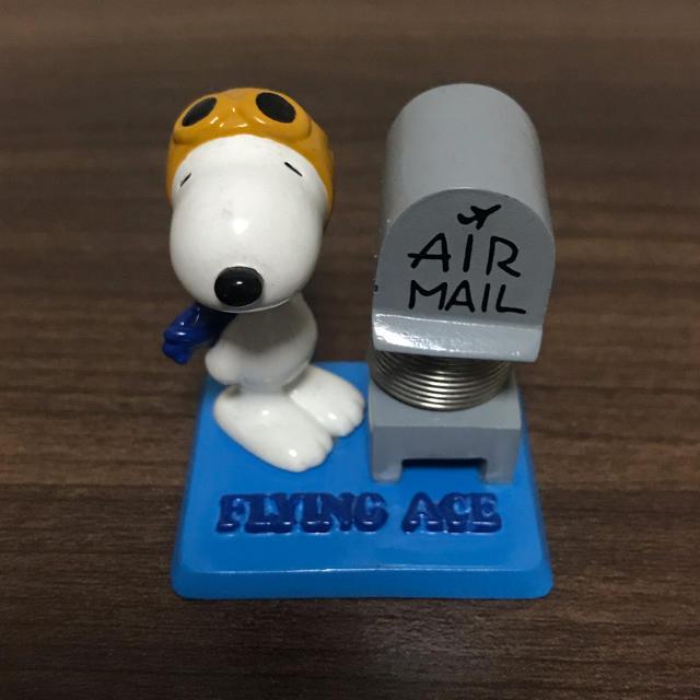 SNOOPY(スヌーピー)のスヌーピー メモスタンド エンタメ/ホビーのおもちゃ/ぬいぐるみ(キャラクターグッズ)の商品写真