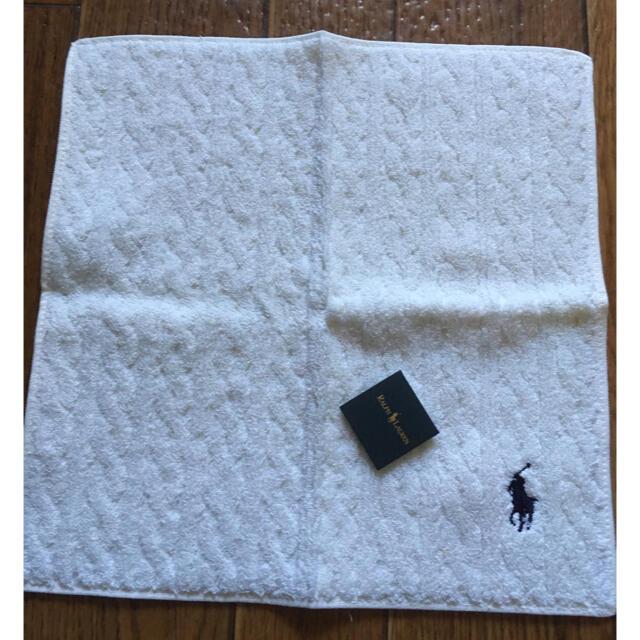 POLO RALPH LAUREN(ポロラルフローレン)のPOLO RALPH LAUREN ポロ ラルフローレン タオルハンカチ レディースのファッション小物(ハンカチ)の商品写真