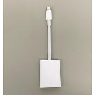 Apple - Apple純正 Lightning - SDカードカメラリーダー 美品