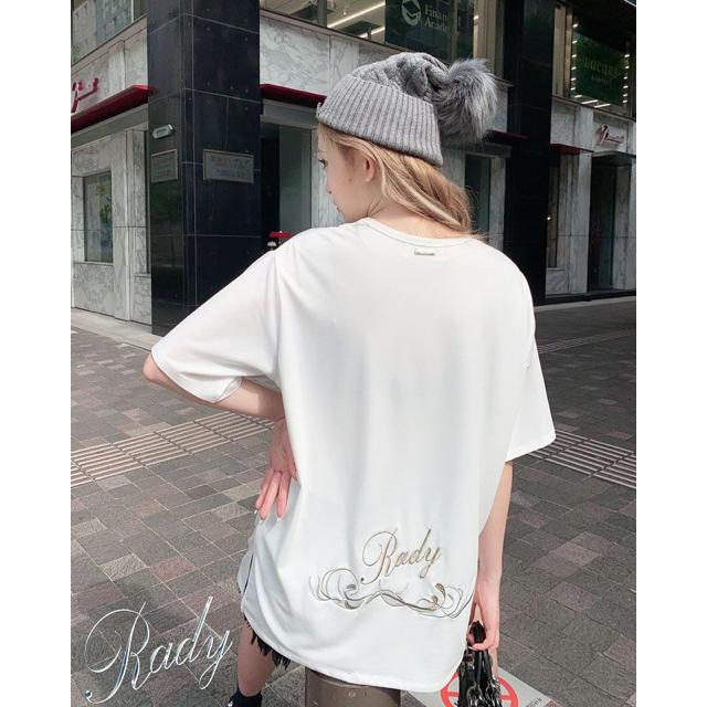 Rady(レディー)の【専用ページ】Rady🎀バイカラーフレームTシャツ レディースのトップス(Tシャツ(半袖/袖なし))の商品写真
