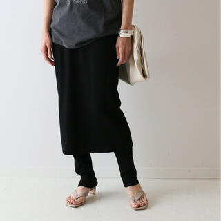 FRAMeWORK - 【美品】C/PEレギンス付きスカート