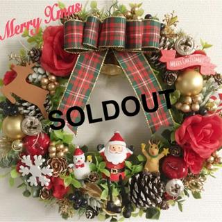 【早割‼︎限定一点】クリスマス♡ナチュラルリース*冬リースPart3゜゜・*:.
