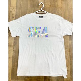 WIND AND SEA ウインダンシー ホワイト L(Tシャツ/カットソー(半袖/袖なし))