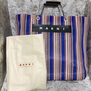 マルニ(Marni)のMARNI ストライプトートバッグ(トートバッグ)