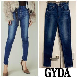 GYDA - GYDA 美品 SLENDER STANDARD H&W スキニーデニム