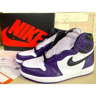 NIKE - NIKE AIR JORDAN1 COURT PURPLE AJ1 ジョーダン1