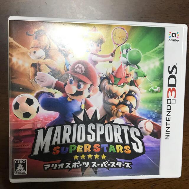 ニンテンドー3DS(ニンテンドー3DS)の3DS マリオスポーツ スーパースターズ エンタメ/ホビーのゲームソフト/ゲーム機本体(携帯用ゲームソフト)の商品写真
