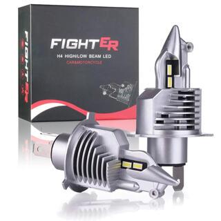 爆光 H4 LED ヘッドライト バルブ