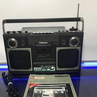 パナソニック(Panasonic)のNational/ナショナル ラジカセ RS-4300 昭和レトロ・ラジオカ美品(ラジオ)