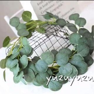 ユーカリ 2M 2本 フェイクグリーン 人工 観葉植物 アレンジ インテリア