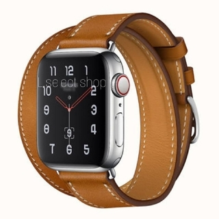 TOMORROWLAND - 415.band apple watch H double 【brown】