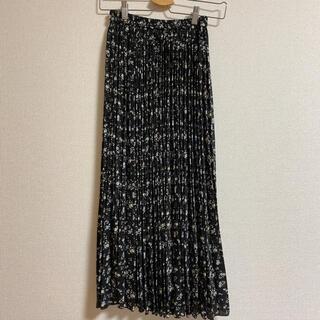 INGNI - 花柄ロングスカート