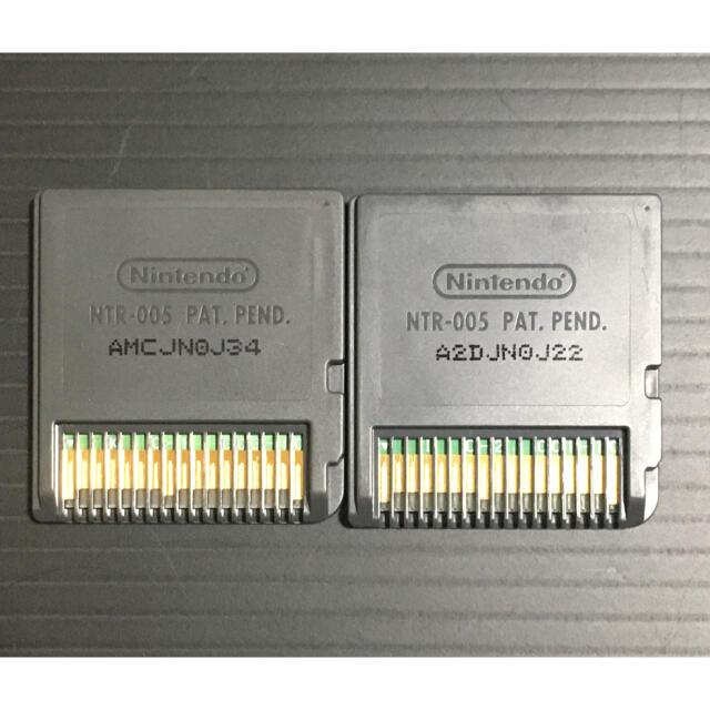 ニンテンドーDS(ニンテンドーDS)の3DSでも遊べます❗️NEWスーパーマリオブラザーズとマリオカートds エンタメ/ホビーのゲームソフト/ゲーム機本体(携帯用ゲームソフト)の商品写真