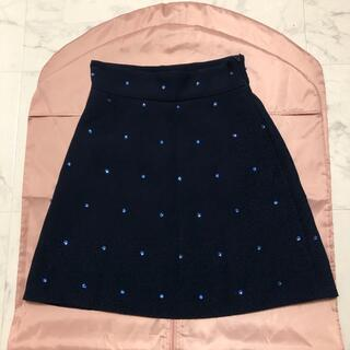 miumiu - miumiu♡ビジュー 台形スカート