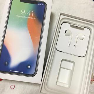 アップル(Apple)のApple iPhone 純正 イヤフォン iPhone X アップル イヤホン(ヘッドフォン/イヤフォン)