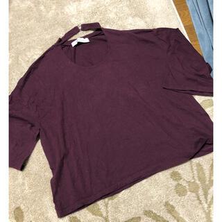 ディーホリック(dholic)のDHOLIC カットソー Tシャツ トップス(Tシャツ(半袖/袖なし))