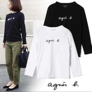 agnes b. - 新品 アニエスベー ロゴ 長袖Tシャツ M