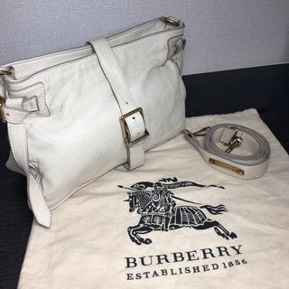 バーバリー(BURBERRY)のBURBERRY PRORSUM ショルダーバッグ ラムレザー(ショルダーバッグ)