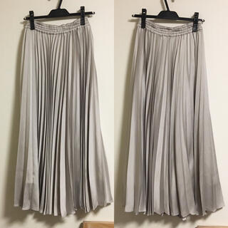 IENA SLOBE - SLOBE IENA♡サテンプリーツスカート