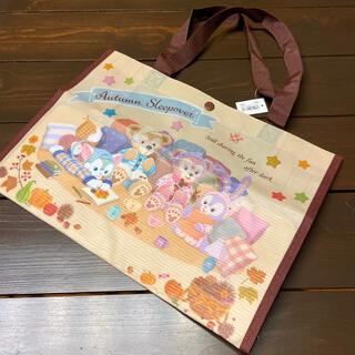 Disney - ダッフィー オータムスリープ ショッピングバッグ ショッピング バッグ トート